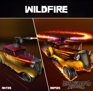 wildfire-car