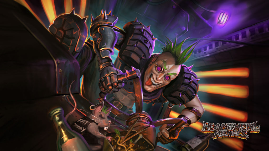 Personagem Dirtdevil - Heavy Metal Machines