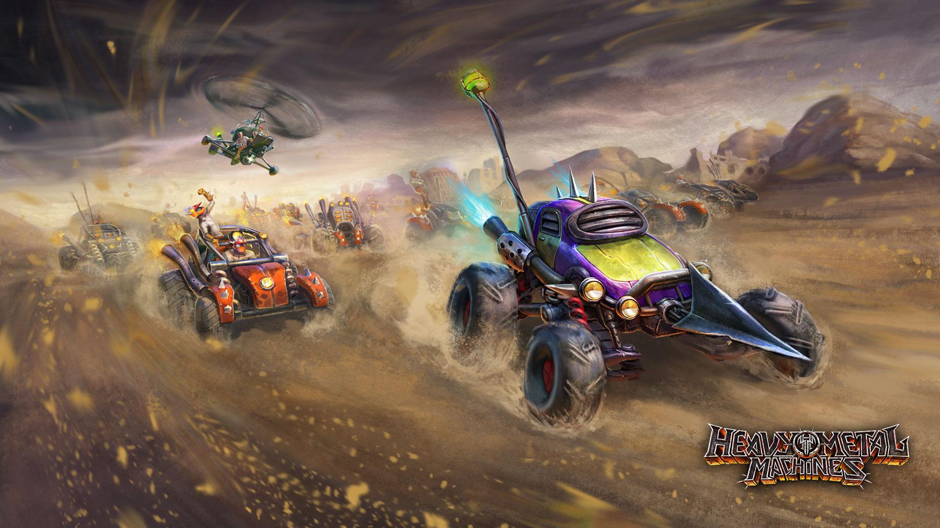 dirtdevil _ Heavy Metal Machines