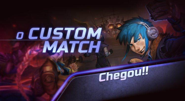 Custom Match - Partida Customizada