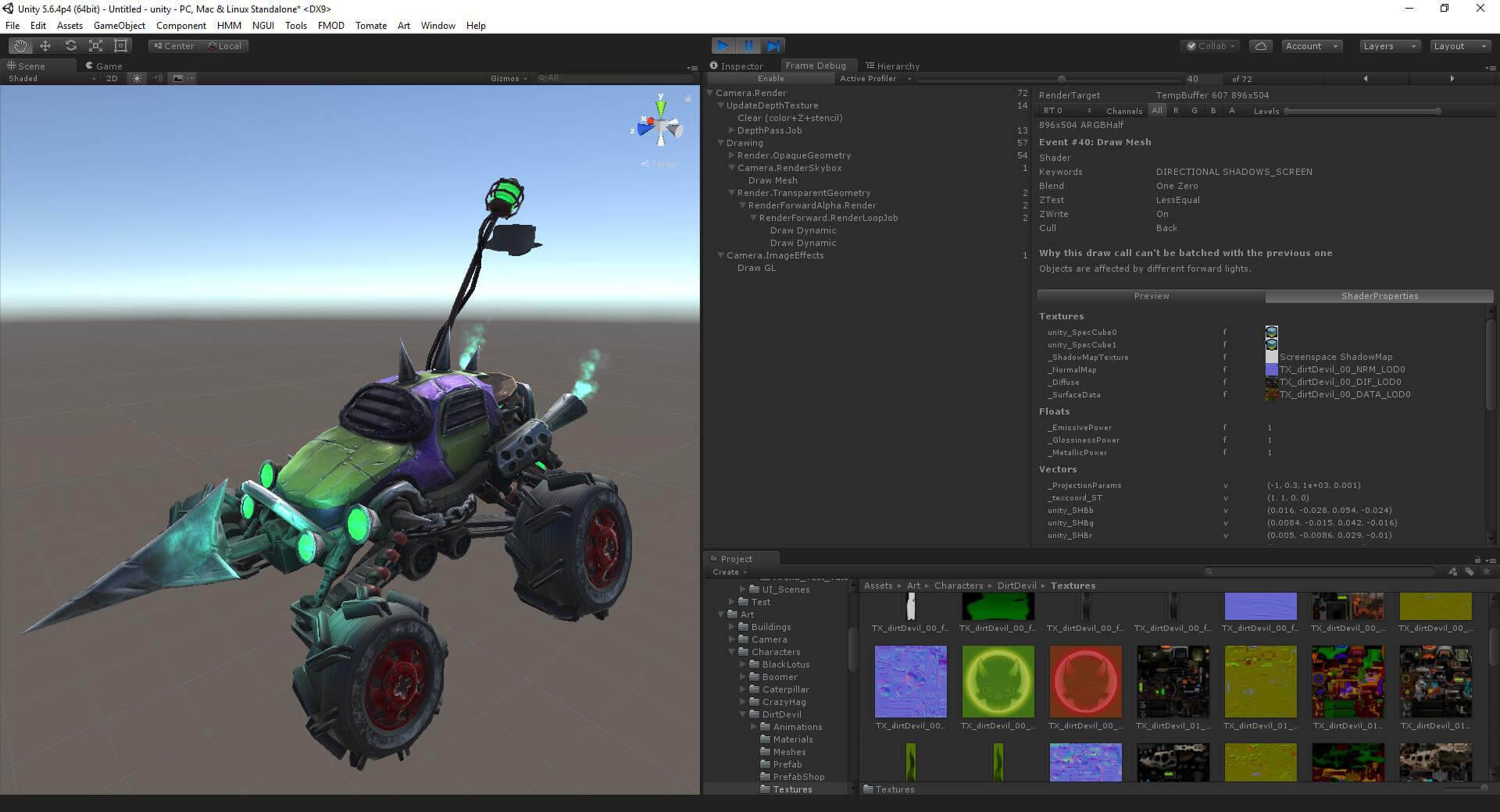 Dev Blog #2 Programador de Gráficos em Heavy Metal Machines
