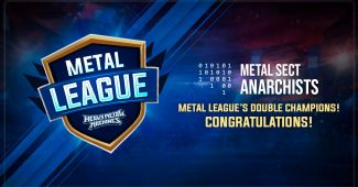 09.12.2019 Meet the Metal League 6 Champions, better yet, DOUBLE CHAMPIONS! -