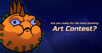 Are you ready for the most amazing Art Contest? Now it's Fugu time
