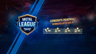 Metal League 7 Qualifiers have ended - Roadkill closes step 4 of the Metal League 7 qualifier in first place again!