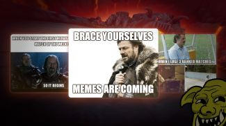 Show everyone that you are a Meme Gladiator! -